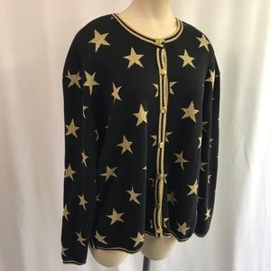 Bechamel Casual Star Cardigan - Size L